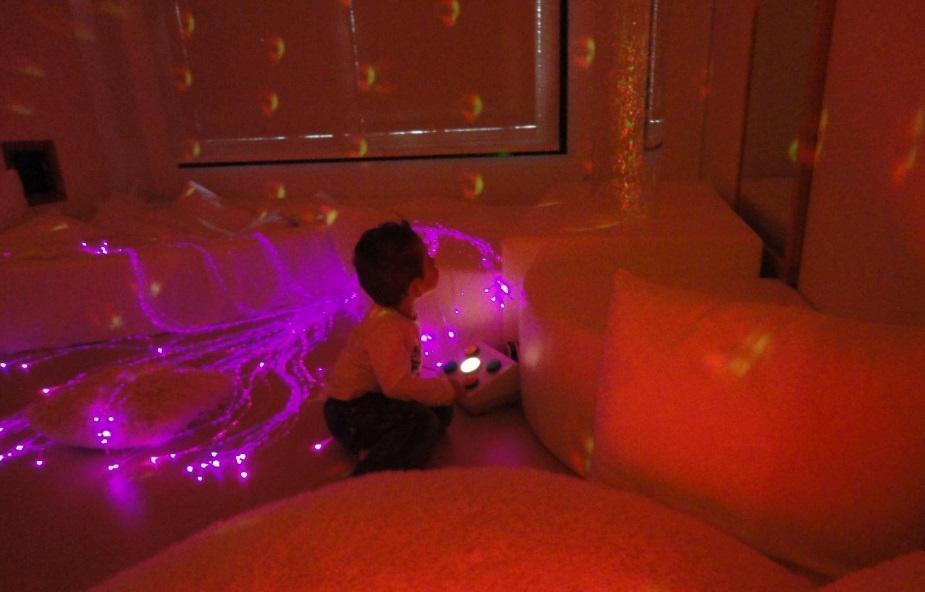 salle multi-sensorielle garçon