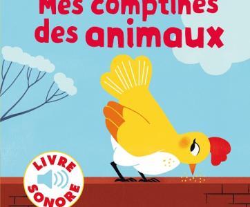Mes comptines des animaux de Gallimard