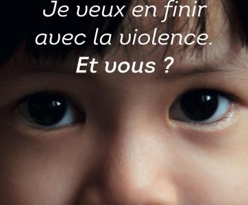 Illustration polan mobilisation et lutte contre les violences faites aux enfants