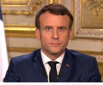 Alluction télévisée d'Emmanuel Macron