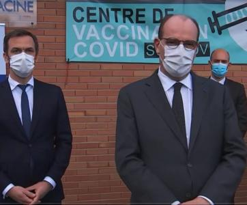 Olivier Beran et Jean Castex