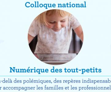 colloque national Numérique des tout-petits