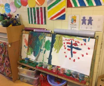 jardin d'enfants de la Solidarité