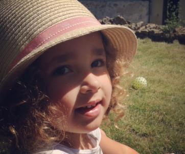 Rose Augustin, petite fille epileptique