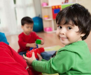 jeuens enfants en structure d'accueil collectif