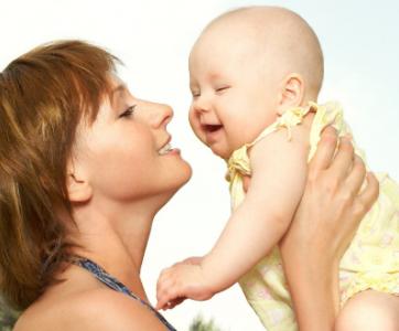 maman avec bébé