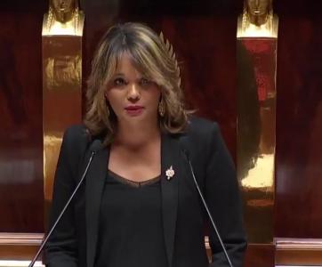 Maud Petit à l'Assemblée nationale