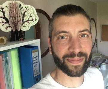 Nicolas, Directeur de la crèche l'Orange Bleue