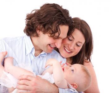 parents avec leur bébé