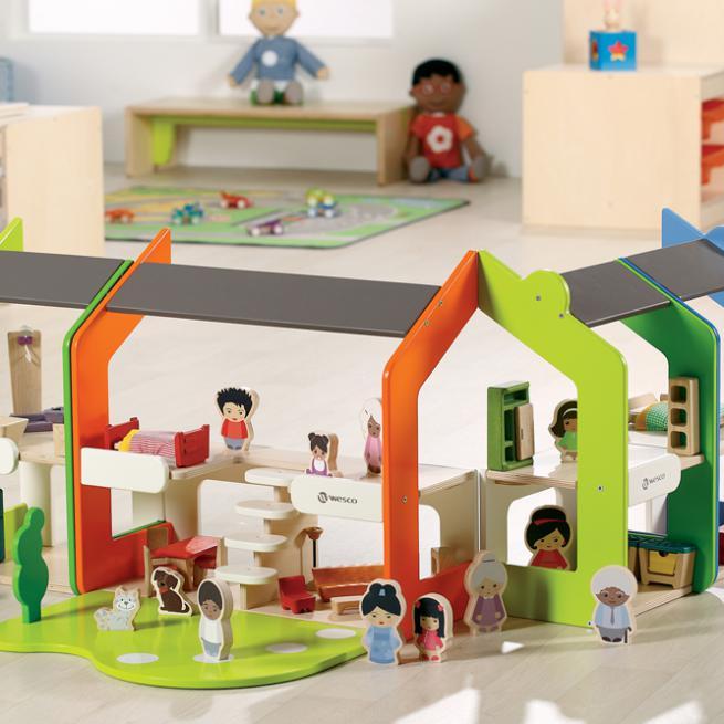 Jeu d 39 imitation 15 jouets pour les enfants for Cuisine wesco