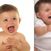 enfant qui rit et enfant qui pleure