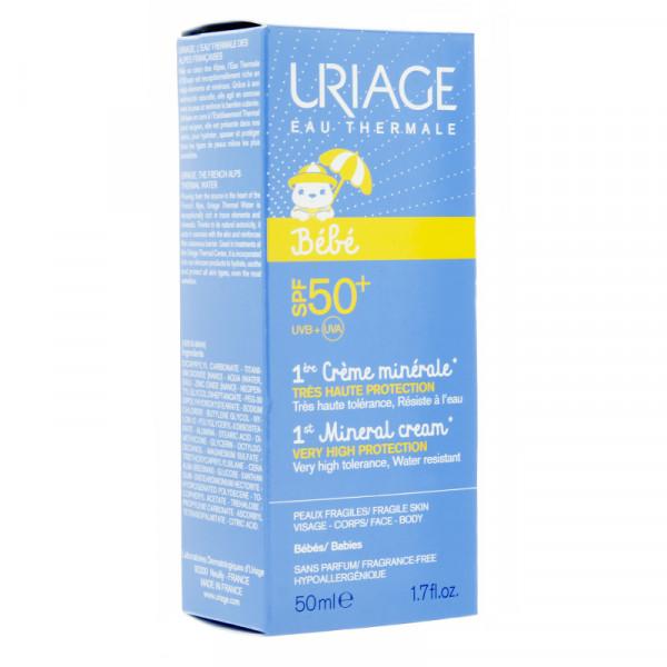 Crème minérale Uriage
